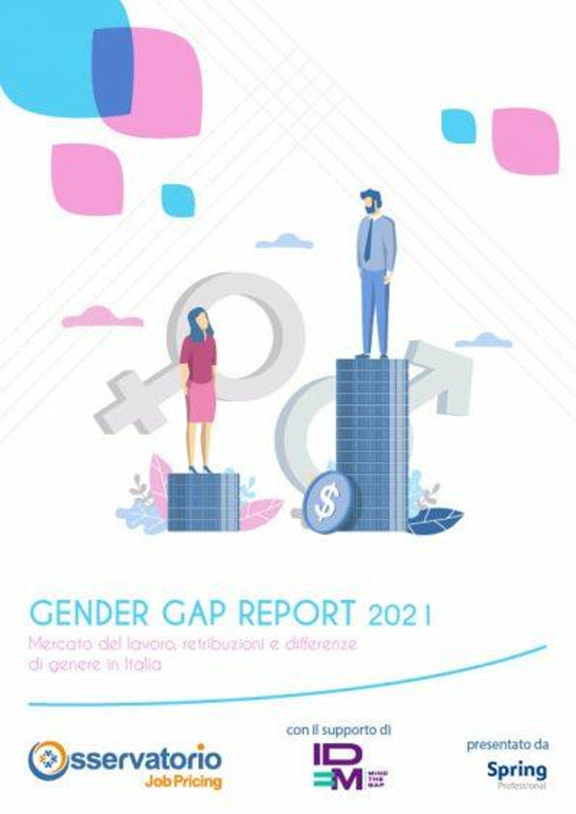 Report Gender gap Osservatorio JobPrincing - Sputnik Italia, 1920, 08.09.2021