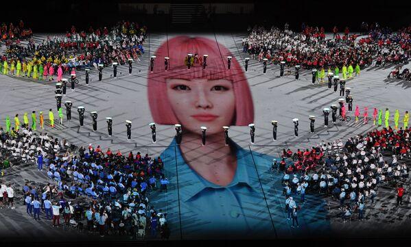 La cerimonia di chiusura dei XVI Giochi Paralimpici Estivi a Tokyo. - Sputnik Italia