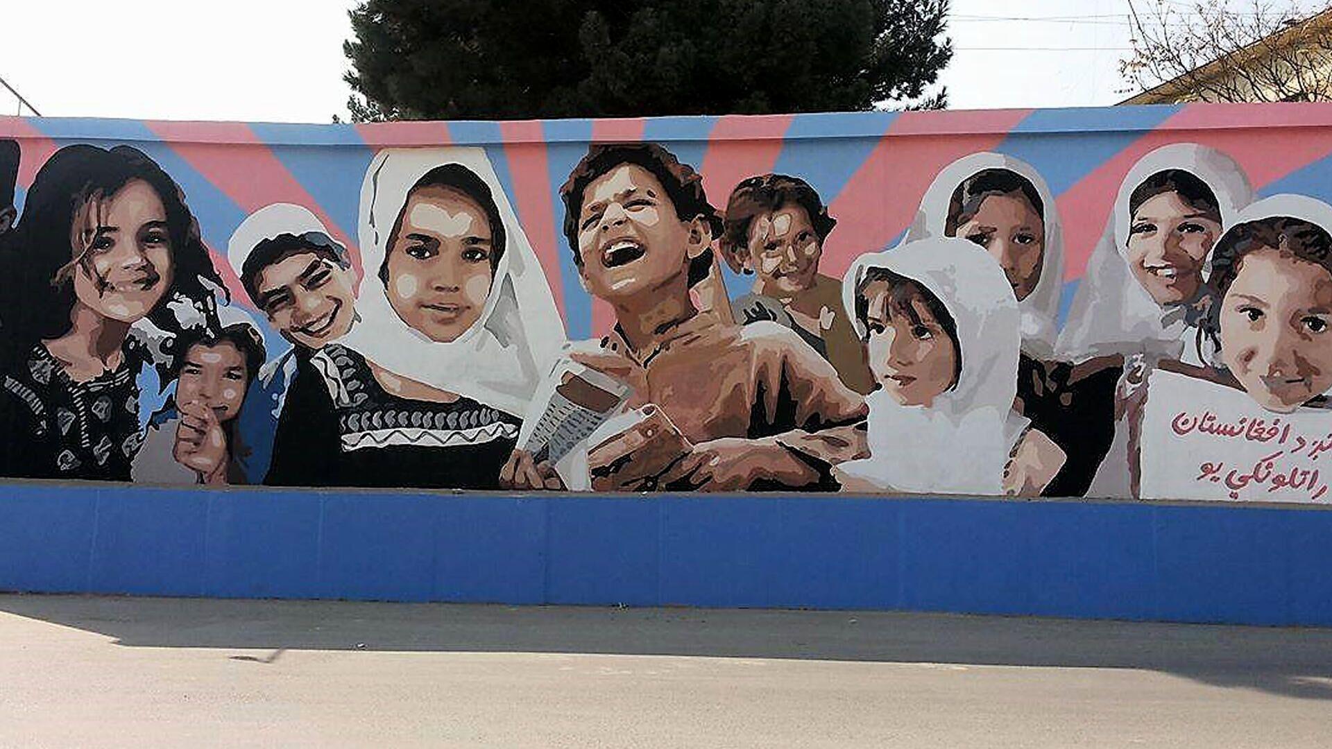 Murales del collettivo Artlords a Kabul - Sputnik Italia, 1920, 10.09.2021