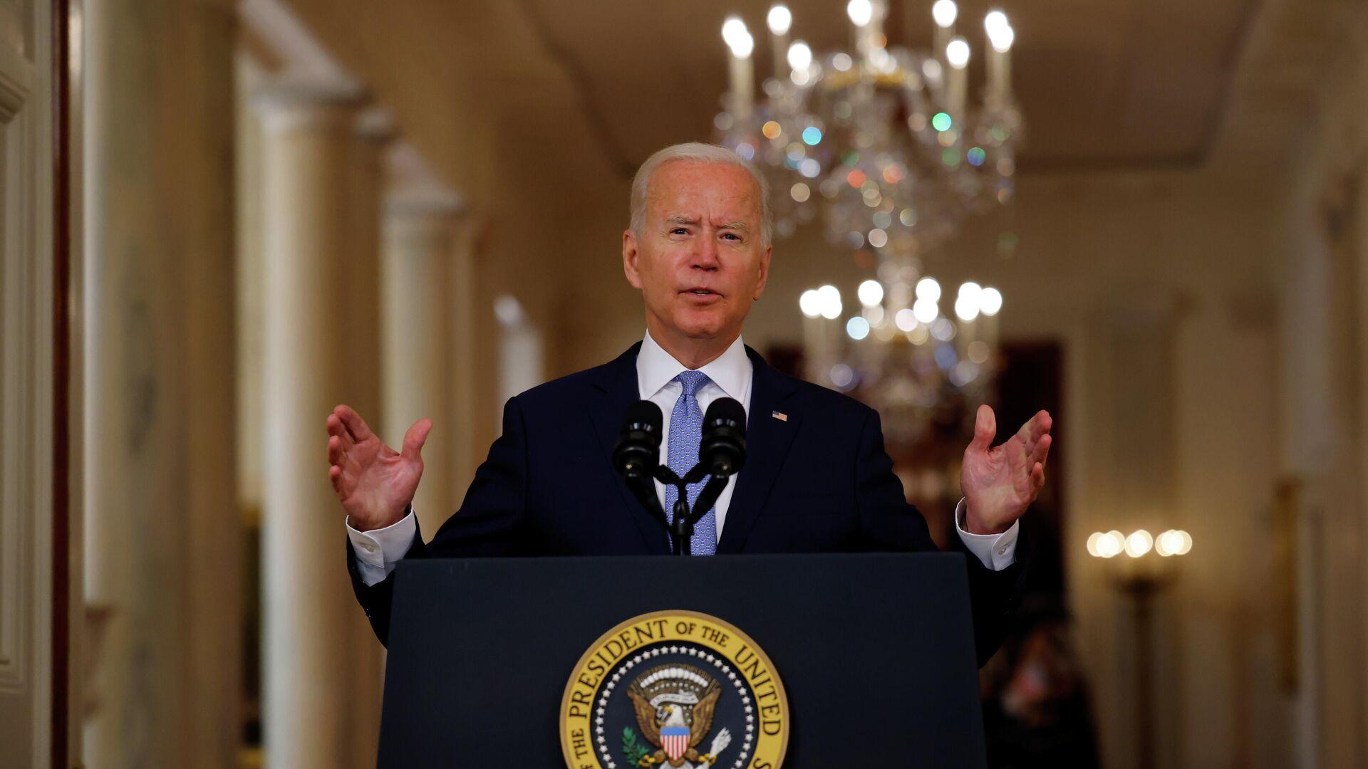 Il presidente degli Stati Uniti, Joe Biden - Sputnik Italia, 1920, 11.09.2021