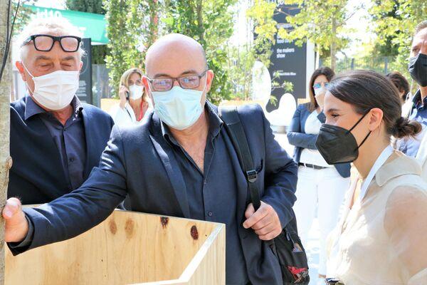 Roberto Cingolani al Salone del Mobile - Sputnik Italia