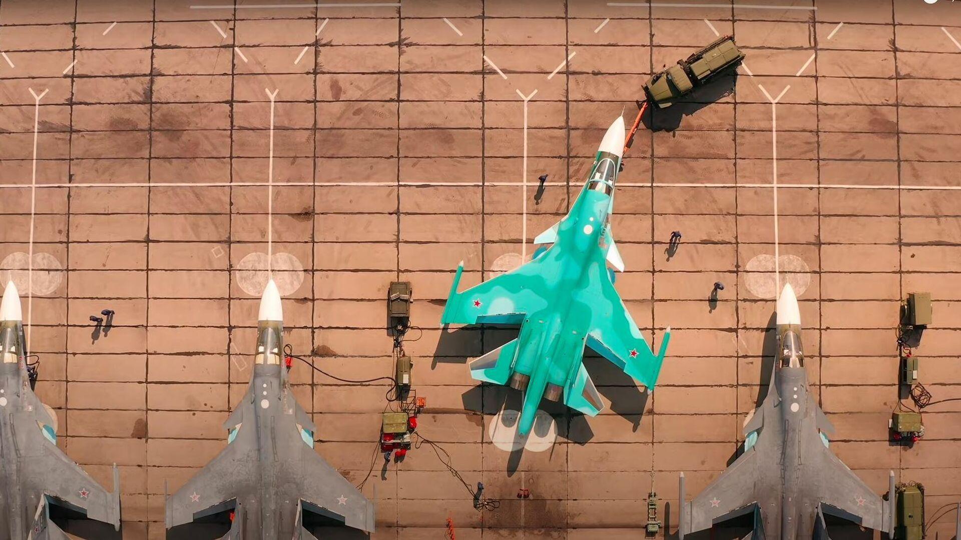 Caccia russo Su-34 - Sputnik Italia, 1920, 12.09.2021
