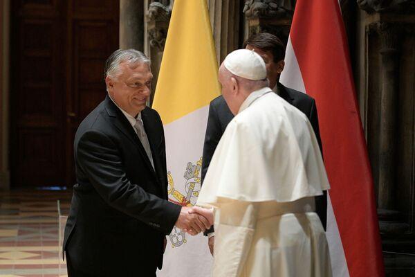 Papa Francesco incontra Viktor Orban - Sputnik Italia