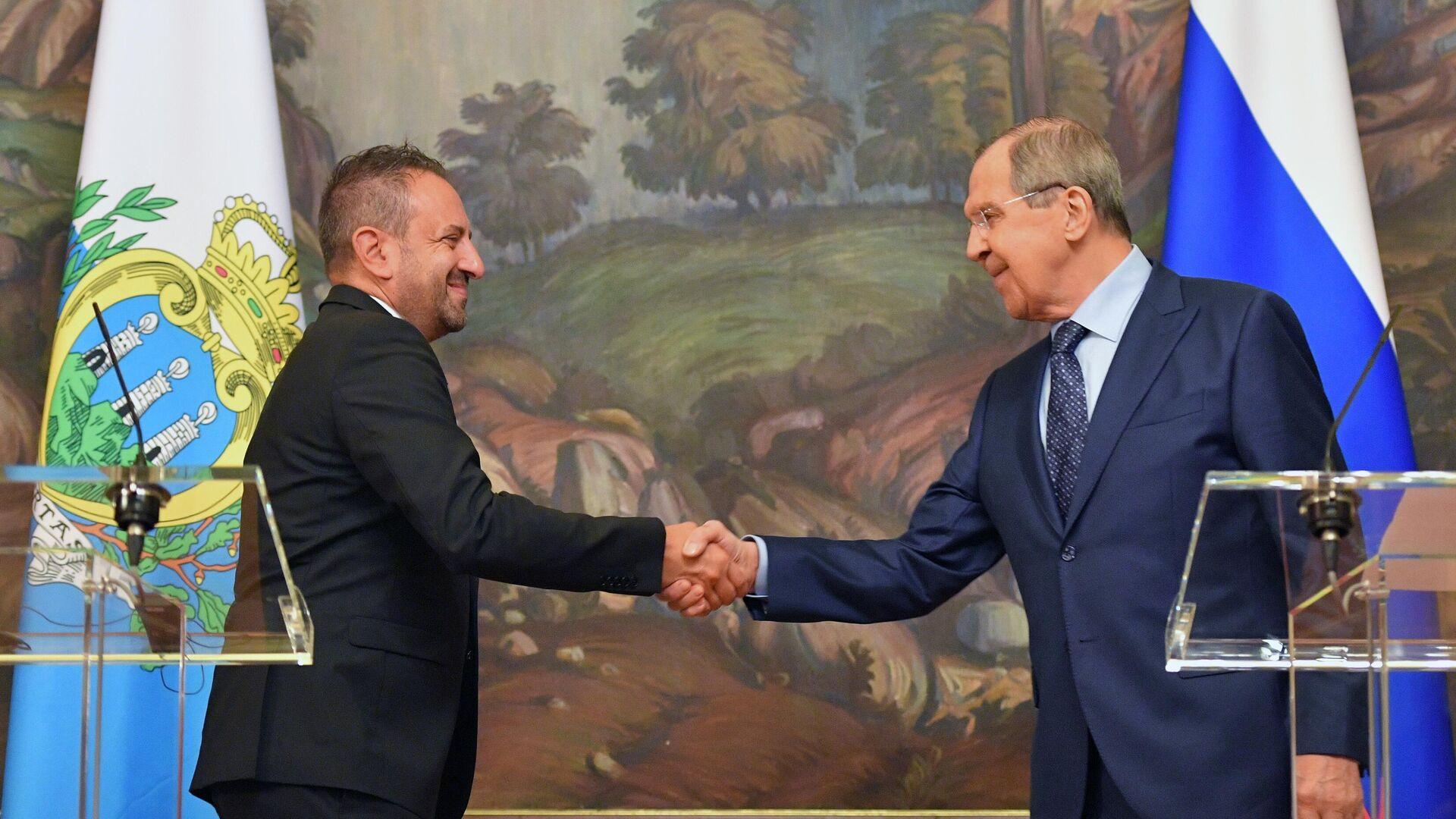 Lavrov e Beccari a Mosca - Sputnik Italia, 1920, 13.09.2021