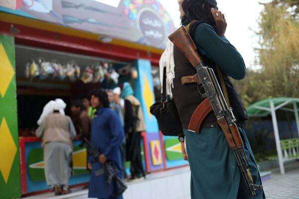 Il parco giochi di Kabul era stato chiuso dopo che i talebani avevano ripreso il potere nel paese. - Sputnik Italia
