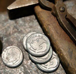 Le monete ricordo con immagine del Presidente Putin