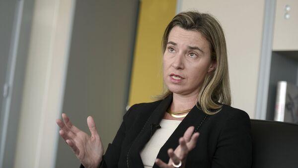 Глава дипломатии Евросоюза Федерика Могерини - Sputnik Italia