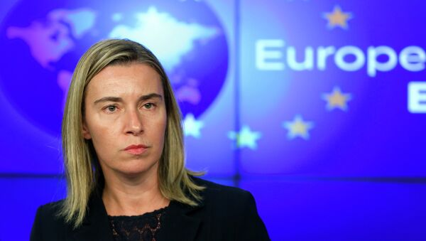 European Union foreign policy chief Federica Mogherini - Sputnik Italia