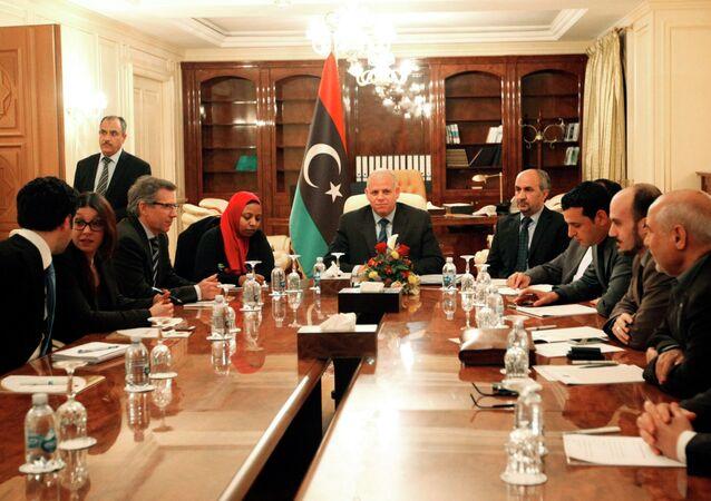 Il mediatore inviato in Libia dalle Nazioni Unite Bernardino Leon