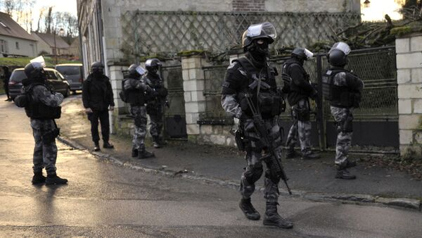 Members of the French police special force GIPN - Sputnik Italia