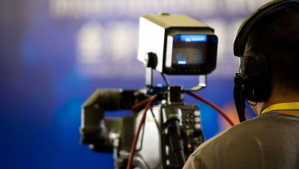 Un cameraman all'opera - Sputnik Italia