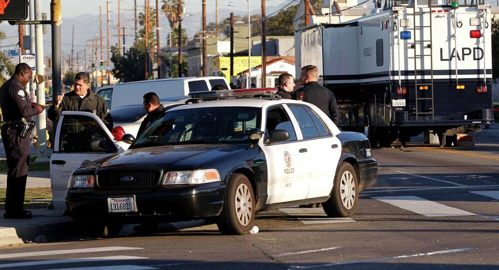 Polizia americana (foto d'archivio)