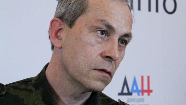 Vice comandante milizia DNR Eduard Basurin - Sputnik Italia