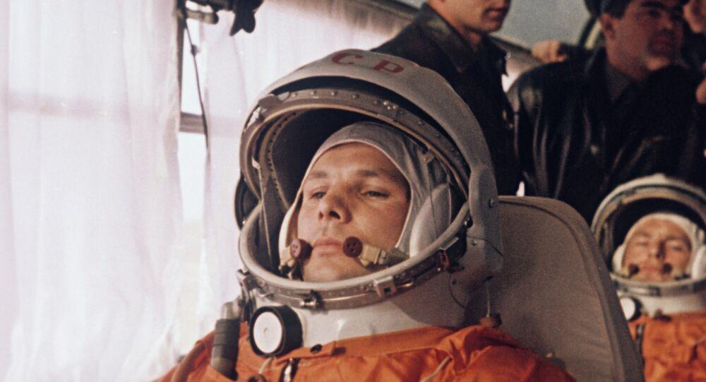 Yuri Gagarin e German Titov