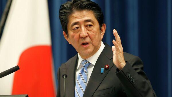 Shinzo Abe, premier del Giappone - Sputnik Italia