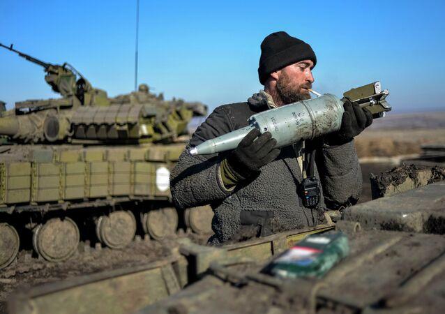 Carri armati dell'esercito ucraino