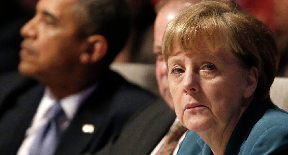 Obama und Merkel telefonieren zu Ukraine-Krise