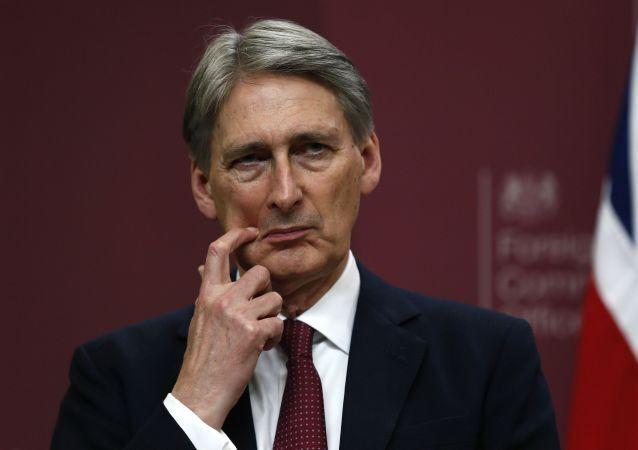 Ministro degli Esteri britannico Philip Hammond
