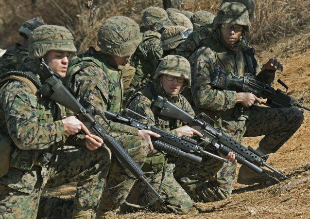 I marines americani