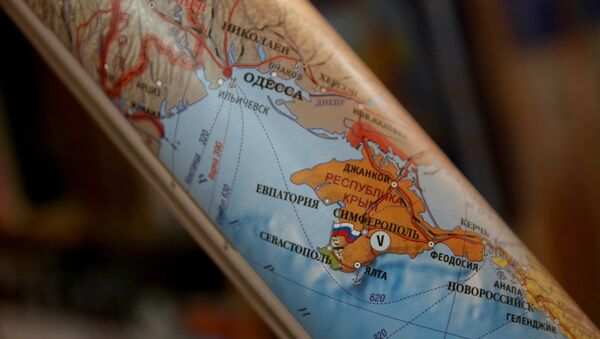 Carta politica della Crimea russa - Sputnik Italia