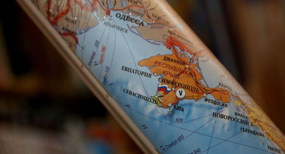 Carta politica della Crimea russa