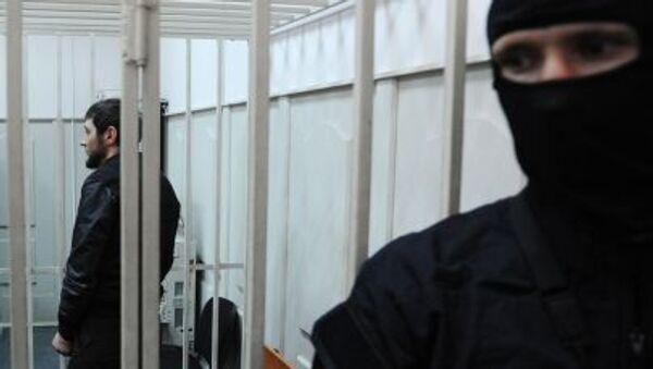 Подозреваемый в убийстве Бориса Немцова в суде города Москвы - Sputnik Italia