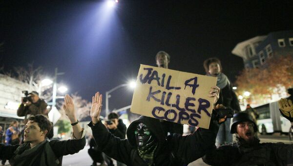 Le proteste a Ferguson, - Sputnik Italia