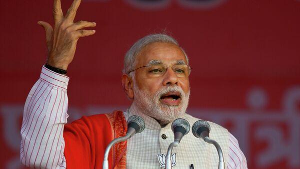 Primo ministro indiano Narendra Modi - Sputnik Italia
