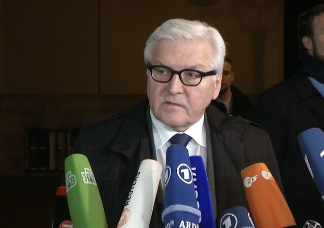 Frank-Walter Steinmeier, ministro degli Esteri della Germania