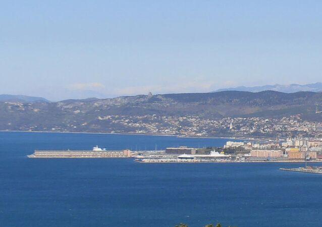 Il porto nuovo di Trieste