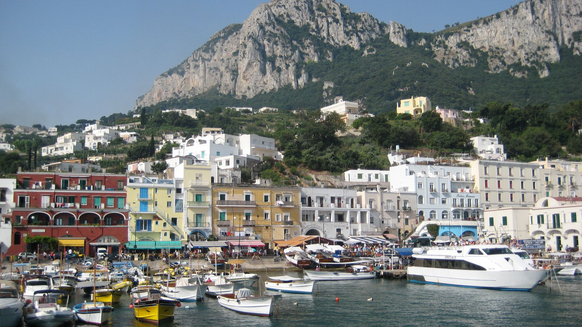 Il porto di Capri - Sputnik Italia, 1920, 22.07.2021