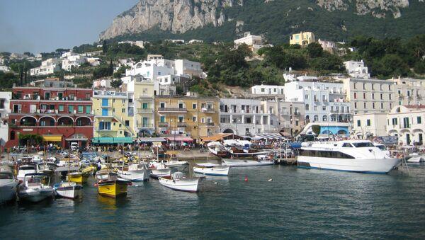 Il porto di Capri - Sputnik Italia