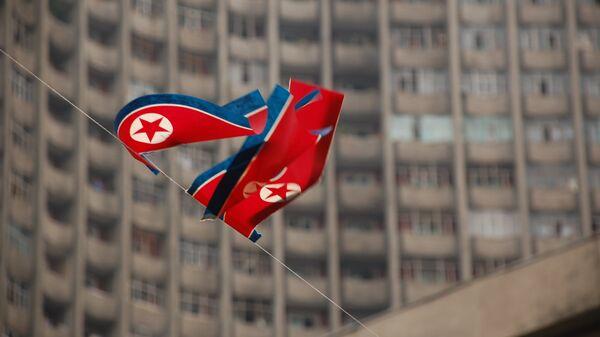 La bandiera di Corea del Nord - Sputnik Italia