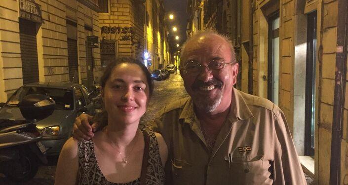 Tatiana Santi e Vauro Senesi