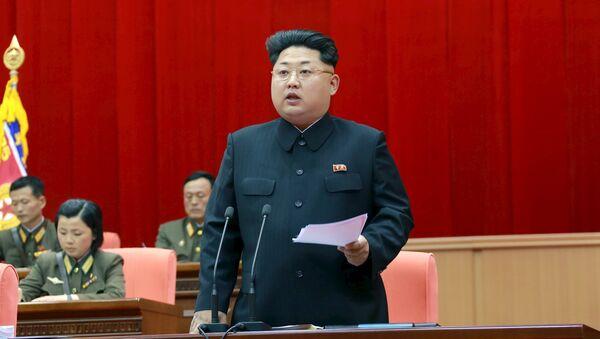 Kim Jong Un, leader della Corea del Nord - Sputnik Italia