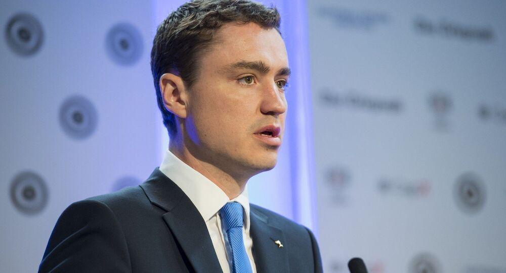 Primo ministri estone Taavi Roivas