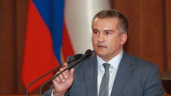 La massima autorità della Crimea Sergey Aksyonov - Sputnik Italia