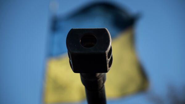 Bandiera ucraina, crisi Donbass - Sputnik Italia