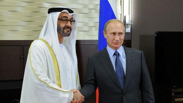 Vladimir Putin e Mohammed bin Zayed bin Sultan Al Nahyan - Sputnik Italia