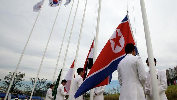 Le bandiere delle Coree - Sputnik Italia