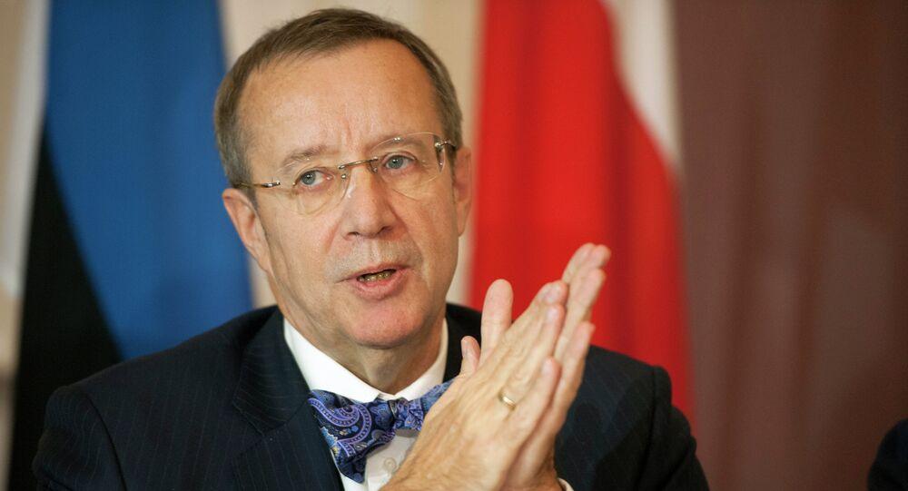 Presidente Estonia Toomas Hendrik
