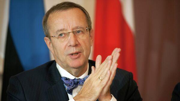 Presidente Estonia Toomas Hendrik - Sputnik Italia