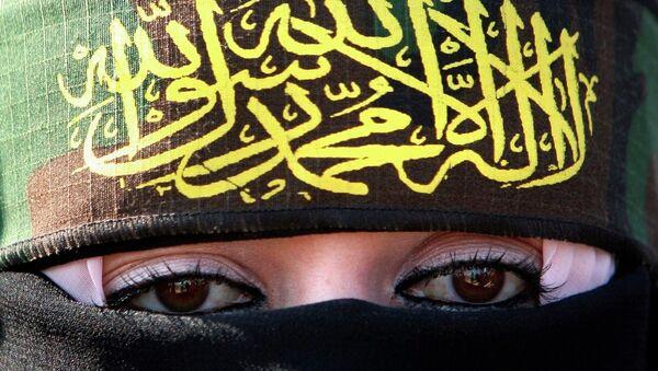 A woman supporting Islamic Jihad - Sputnik Italia