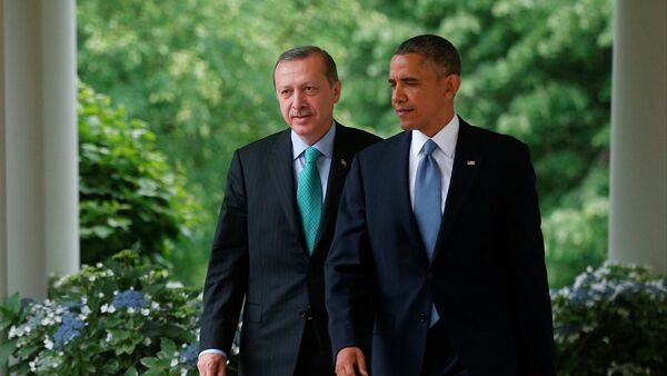 Recep Tayyip Erdoğan e Barack Obama - Sputnik Italia