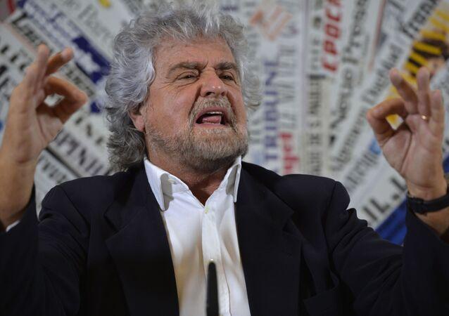 Beppe Grillo (foto d'archivio)