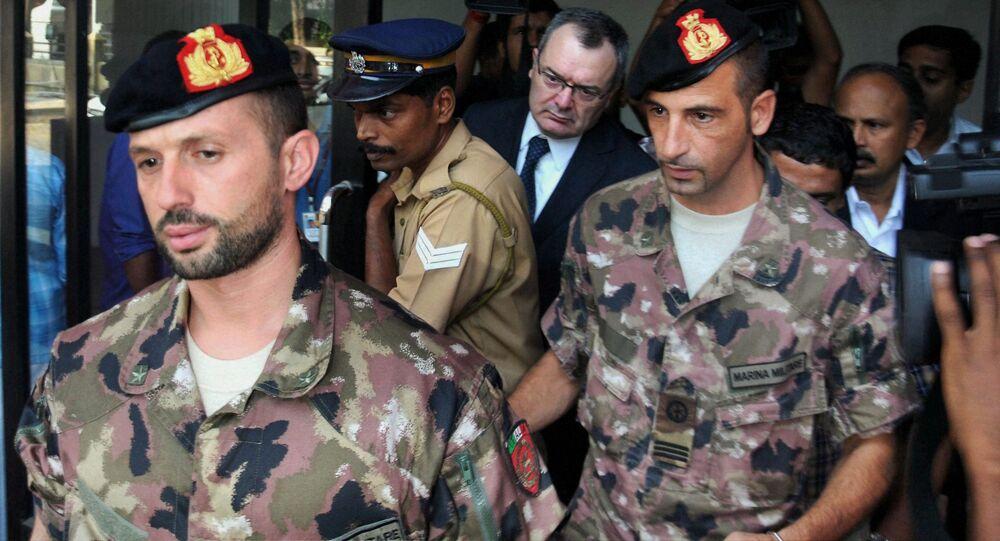 Massimiliano Latorre e Salvatore Girone