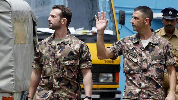 Massimiliano Latorre e Salvatore Girone - Sputnik Italia