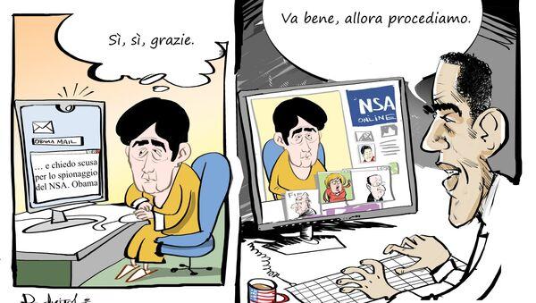 Lo spionaggio del NSA - Sputnik Italia