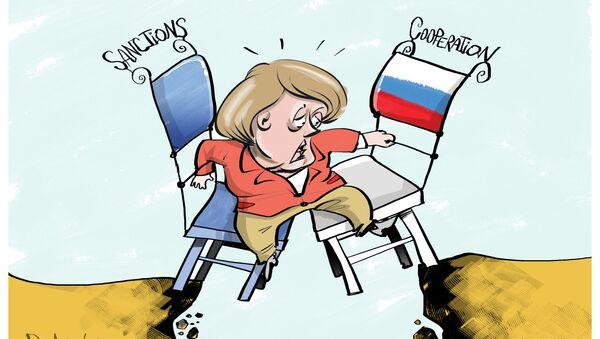 Merkel - Sputnik Italia