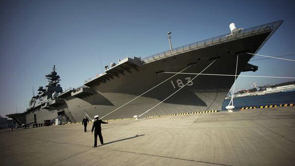 Nave militare giapponese Izumo - Sputnik Italia